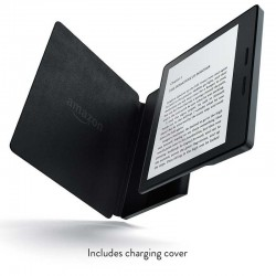 Amazon Kindle Oasis with Leather Charging Cover